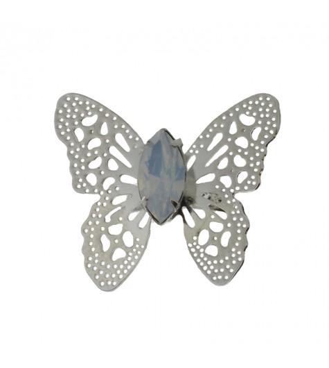 Bague réglable - Papillon