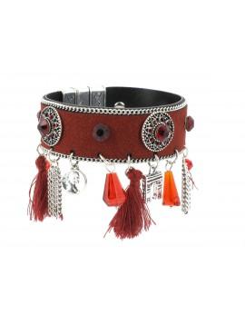 Bracelet - Large avec pampilles.