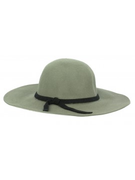 Wde-brimmed hat - Ribbon.