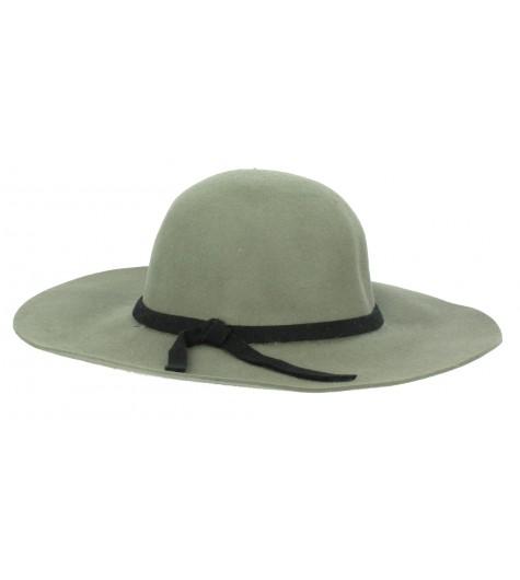 Wde-brimmed hat - Ribbon.