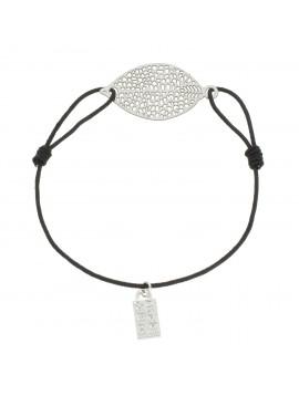 Bracelet - Metal leaf.