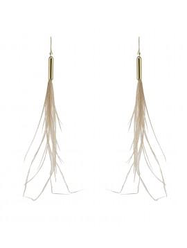 Earrings - Feathers.
