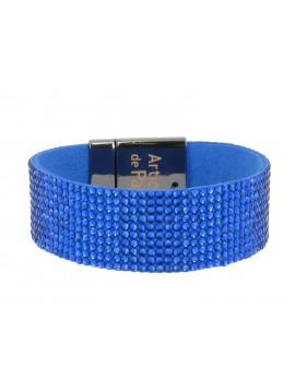 Bracelet - Large tout strass.