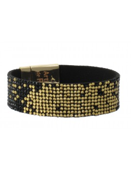 Bracelet - Degradé de strass.