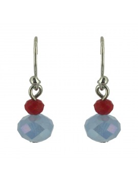 Earrings - Faceted beads.