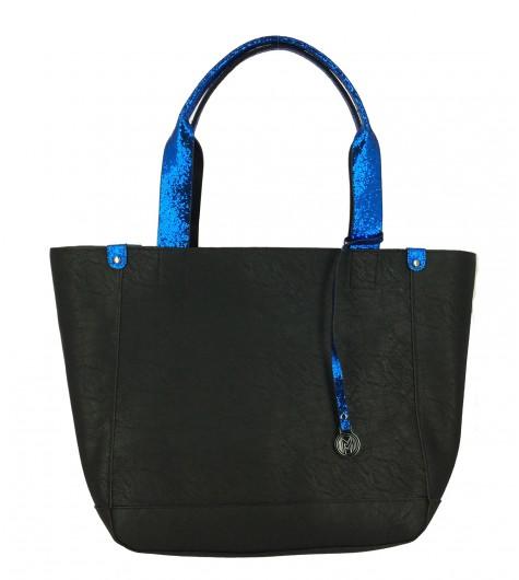 Shoulder bag - Handles with sequins decoration.