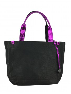 Shoulder bag - Handles with sequins decoration.