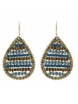 Earrings - Beads drops.