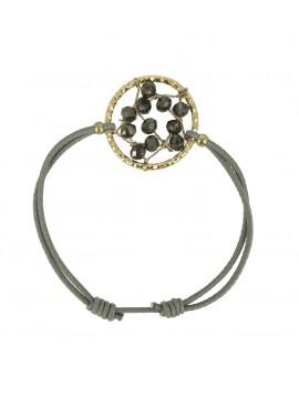 Bracelet - Cercle avec strass.