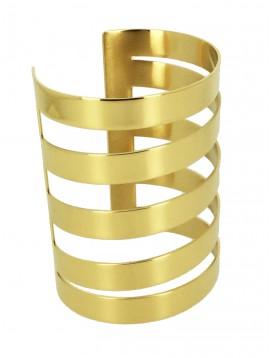 Stainless Steel Bracelet - Five rows.