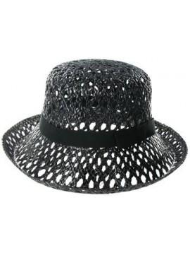 Chapeau Femme de paille ajourée