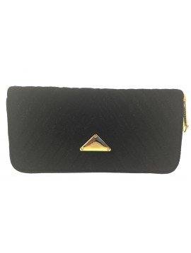 Wallet - Suede padded look.