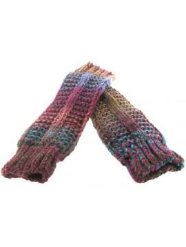 Mitaines multi tricot