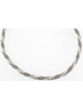 Silver necklace - Charlotte
