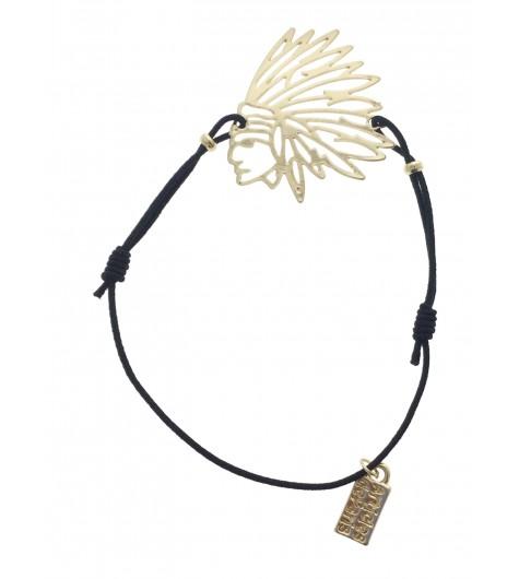 Bracelet - Tête d'indien.
