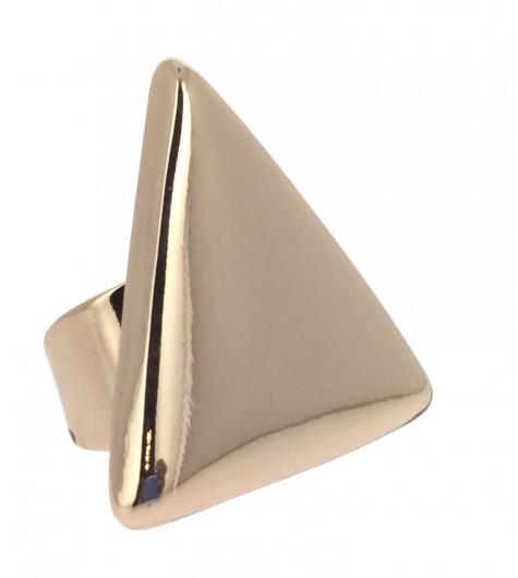 Ring - Metallic triangle.