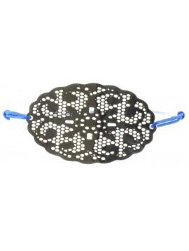 Bracelet ela - Rosace ajourée ovale