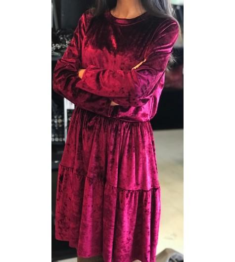 Robe velours