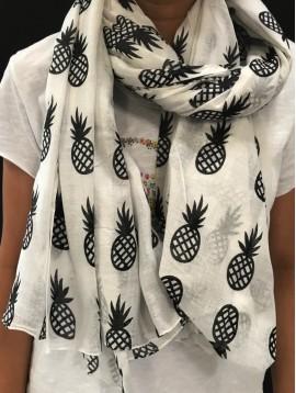 Echarpe impr ananas