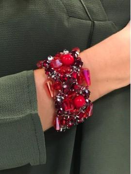 Bracelet aimant - Tout en perles
