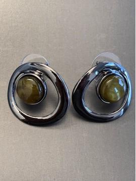 BO percées - Cercle métal centre résine