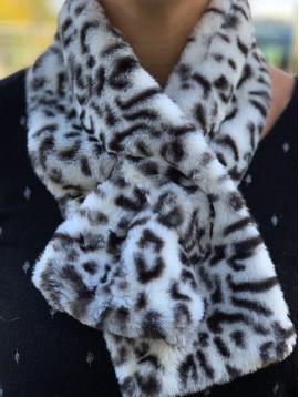 Scarf - Leopard fur style.