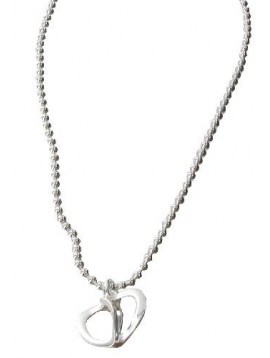 Silver necklace - Karina