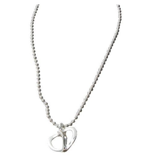 Silver necklace - Karina