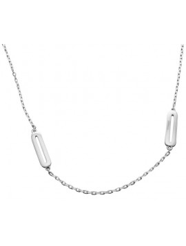 Silver necklace - Marielle