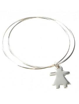Silver earring - Juliette