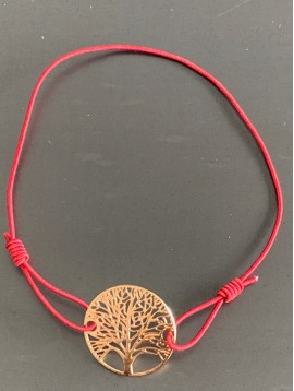 Bracelet - Tree of life filigree charm.