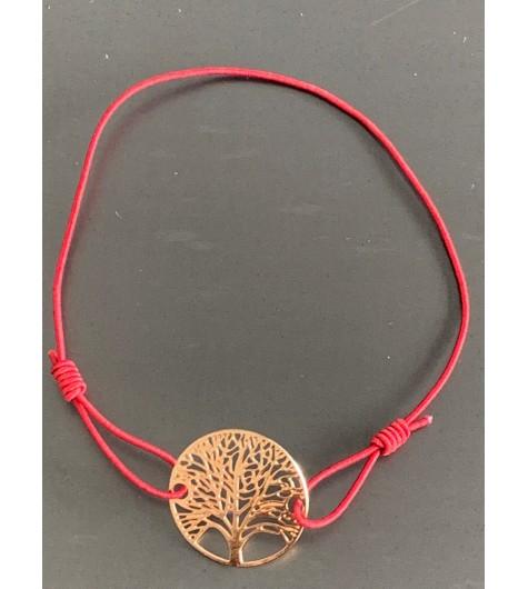 Bracelet éla - Arbre de vie filigranne