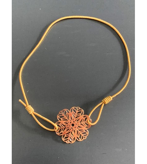 Bracelet éla - Trèfle filigranne