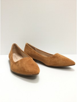 Shoes - Plain color suede style flats.