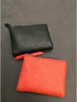 Wallet - Small size supple model wrinkled style.