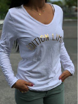 "Tshirt manches longues ""Edition limitée"""