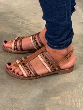 Sandales multi liens