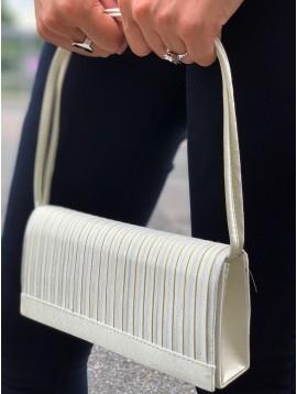 Sac habillé plissé vertical devant