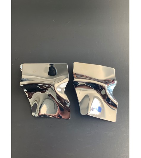 BO clips - Style de trapèze en métal diforme et gondolé