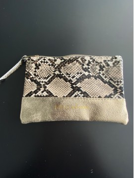 "Maro PM/pochette reptile ""Mila and stories"""