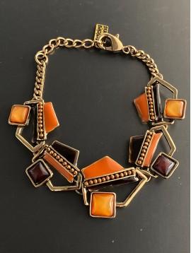 Bracelet - Formes diverses émail et strass