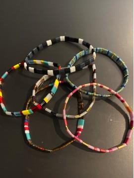 Bracelet éla - Petits carrés