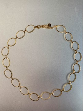 Collier Acier - Maillons ovales