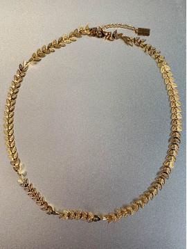 Collier Acier - Epis en métal