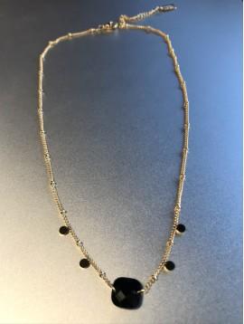 Collier Acier - Maille corde