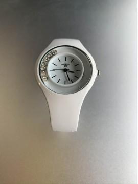 Montre - Bracelet clip strass libre autour du cadran