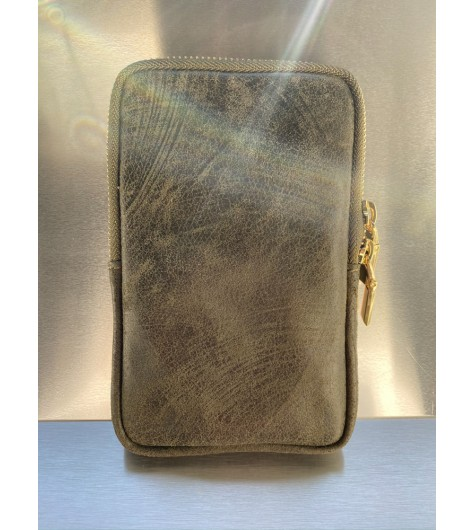 Maro/Etui pour smartphone en cuir
