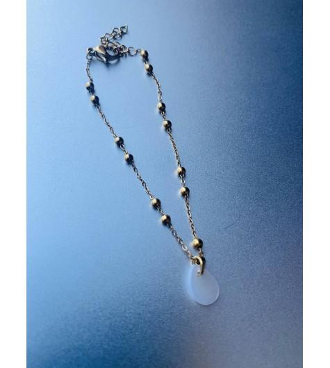 Bracelet Acier - Chaine avec boules