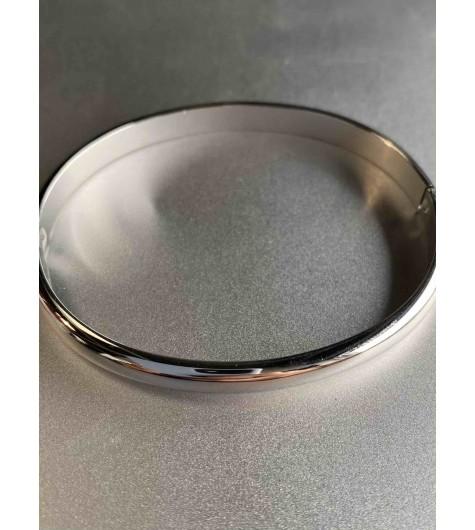 Bracelet Acier - Jonc ovale élégant