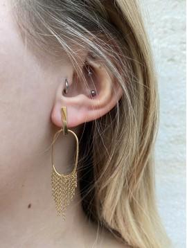 BO Percées - Rectangles fins avec ovales et chaines pendantes